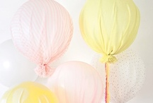 Globos {Decoración} / Inspiración en la Decoración con Globos y productos que se pueden encontrar en la tienda online My Little Party