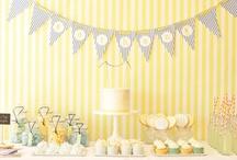 Amarillo {Fiestas por Colores} / Inspiración para decorar una fiesta en tonos amarillos / by My Little Party Fiestas con Estilo
