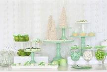 Verde {Fiestas por Colores} / Inspiración para decorar una fiesta en tonos verdes / by My Little Party Fiestas con Estilo
