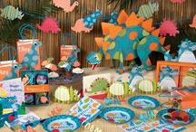 Dinosaurios {Fiestas Temáticas} / Ideas para organizar una fiesta de dinosaurios / by My Little Party Fiestas con Estilo