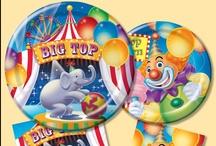 Circo {Fiestas Temáticas} / Ideas para organizar una fiesta inspirada en el circo / by My Little Party Fiestas con Estilo