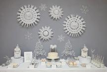 Blanco {Fiestas por Colores} / Inspiración para decorar una fiesta en tonos blancos / by My Little Party Fiestas con Estilo