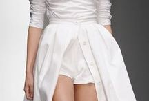 white. / white is a crisp color for fashion and design.