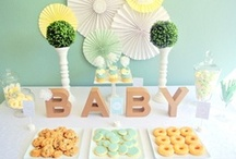 Baby Shower {Fiestas Temáticas} / Ideas para organizar un Baby Shower.