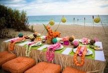 Hawaii {Fiestas Temáticas} / Ideas para organizar una fiesta hawaiana. / by My Little Party Fiestas con Estilo