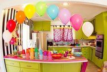 Arcoíris {Fiestas Temáticas} / Ideas para organizar una fiesta tan colorida como un arcoíris. / by My Little Party Fiestas con Estilo
