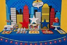 Superhéroes {Fiestas Temáticas} / Ideas para organizar una fiesta de superhéroes. / by My Little Party Fiestas con Estilo