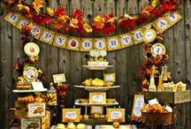 Otoño {Fiestas Temáticas} / Ideas para organizar una fiesta otoñal  / by My Little Party Fiestas con Estilo