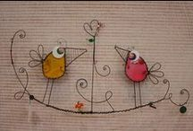 GOTTA LUV CRAFTING WIRE! / inspiration to make beautiful wire crafts - get WIRED up!