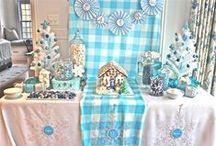 Invierno {Fiestas Temáticas} / Ideas para organizar una fiesta de invierno / by My Little Party Fiestas con Estilo