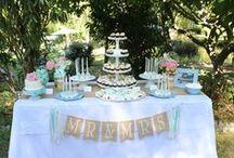 Bodas / Inspiración para la decoración de bodas / by My Little Party Fiestas con Estilo