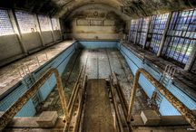 Abandoned recreation facilities / Abandoned amusement parks, swimming pools... / by Courtney Elwell