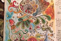 Zentangling and Doodling / A collection of inspirational ideas for Zentangle projects.