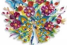 Quilling Inspiration / Ideas, Patterns and Tutorials for Paper Quilling