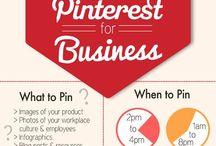 Pinterest for Business / Tips on using Pinterest for business