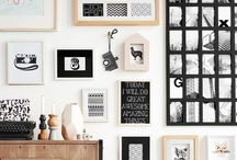 home : gallery wall / #home #decor #gallerywall #pictures #homedecor