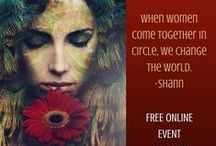 Goddess Talk Sessions Global Event / Reclaim Your Voice and Speak Your Truth. 16 Powerful Audios and 20 Gifts  www.GoddessTalkSessions.com