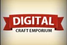 Digital Craft Emporium / Items that are available from my online shop - Digital Craft Emporium