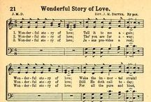 Gospel Hymns ♱ / Sheet Music & Sing Along Videos (Just click on sheets to watch videos)
