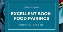 Books and Food / Books, cakes, desserts, art, food, literature, pop culture. We love food and we love books, so why not love food and cooking and books together?