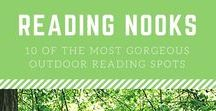 Book Nooks, Book Shops, and Bookish Spaces / Bookish destinations, bookish hideaways, and awesome book and literary places and spaces around the world.  Reading nooks, book nooks, book shops, and more.