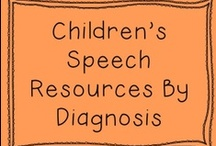 speech therapy / by Catherine Hayes