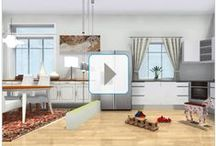 RoomSketcher Home360 Panoramic Room Viewer / Want to visualize or showcase a room or interior design as if you were standing right in the middle of the room?  RoomSketcher Home360 panoramic viewing tool allows you to see a whole room from a single vantage point. Visualize room layouts, furniture arrangements, decor and more. #homeviewing  #panoramic #propertyphotography #interiordesign #realestatemarketing #homebuilding / by RoomSketcher