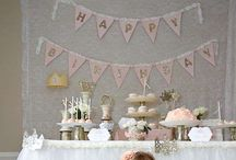 Girly parties / Sweet little girl parties part 2 / by Brit R