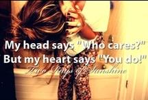 those sayings ...