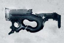 Concept: Weapons / by Mark Zamayla