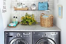 Laundry/ mud room / by Paige Weisgram