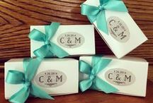 Mouth Party at Your Wedding / Contact us about using our caramels as wedding favors. We'll work with you to make them fit your perfect day. www.mouthpartycaramel.com