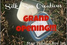 Silk Spa Creations @Etsy / We aim to provide unique, Eco-friendly and effective bath & body products to those seeking to experience the benefits of nature, such as: Massage 3-N-1 Candles, Brown Sugar Scrub, Silk Spa Body Butter, & Silk Hair & Body Oils.  All of our products are made FRESH to order, to ensure that it will gently cleanse, enrich, moisturize and nourish your skin. #Etsy, #handmade #bath&body  Check it out: www.silkspacreations.etsy.com