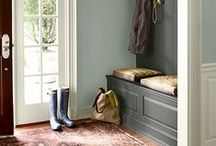 home: entrys, mudrooms, stairs / by Sandra Fleming