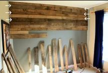 projects: wall treatments / by Sandra Fleming