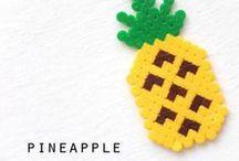 חרוזי גיהוץ / great ideas for crafts and diy activities using perler beads