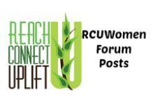 RCUWomen Forum / Highlighting all the great posts from the RCUWomen Forum. Don't miss a thing!