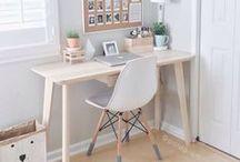 HOME: Sekretär / Hier sammle ich Ideen für die Dekoration meines Sekretärs.