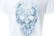 Alexander McQueen #SS16 / Alexander McQueen loves skulls. Discover the new collection #AlexanderMcQueen > http://bit.ly/1RoYfri  #tshirt #dress #skulls