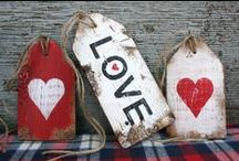 Holidays: Valentine's Day / I LOVE, all things red, hearts and love!