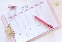 Kalender / Hier sammle ich Ideen und Printables zum Thema Kalender für euch! zum Beispiel: Kalender zum Drucken, Filofax, Filofaxeinlagen, Trennblätter, Divider, Kalender 2018