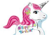 Dritter Geburtstag / Hier sammle ich Ideen für den kommenden dritten Geburtstag meiner kleinen Ella - etvl. eine Einhorn Party / Unicorn Party / Unicorn Birthday / Einhorn Geburtstag