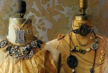 Dress Forms / Love the look of old dress forms / by Marcy Antle