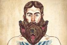 Beard Art / by LINA GABRILEA MANTIQUE