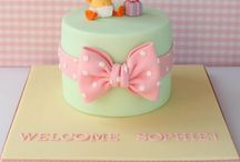 BABY SHOWER   CAKES / by Monica Pinillos