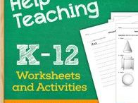 Free Printable Worksheets / Sample Free Printable Worksheets from HelpTeaching.com including: elementary worksheets, middle school worksheets, high school worksheets, as well as seasonable and holiday printables for kids.