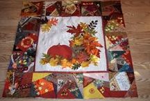A - It's Fall Ya'll Quilts / by Kathy C