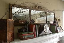 Mantles, Bookshelves & Vignettes / by Denise Cowan