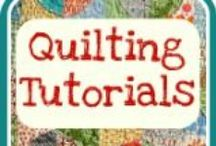 A - Quilt Tutorials & Patterns / by Kathy C