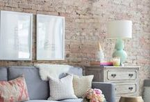 Decor // Living Rooms / by Krissy M.